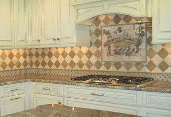 Examples of custom tile installations in New Jersey - Fuda Tile - The Tile King