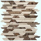 Sample from the Bamboo Series of mosaic tile