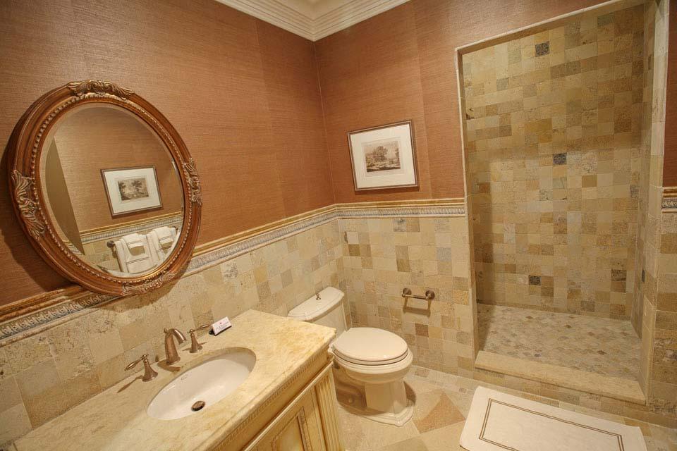 Glass ceramic marble mosaic bathroom tile fuda tile nj for 4x4 bathroom ideas