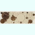 Sample from the Bubble Series of mosaic tile