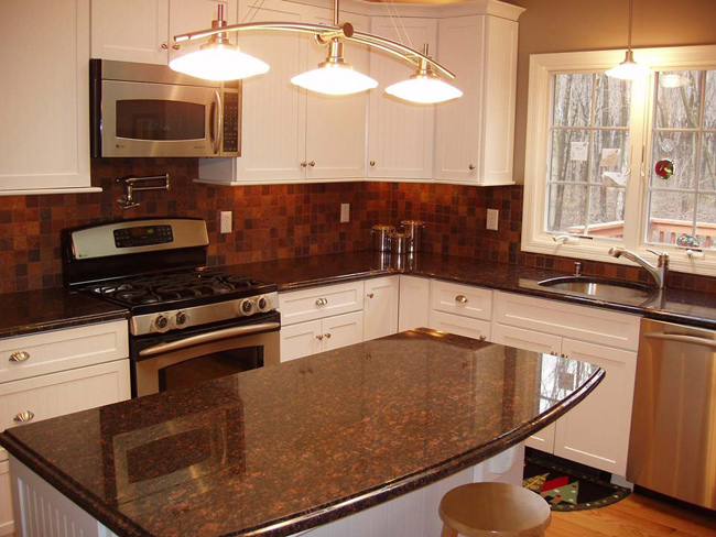 Tan Amp Brown Granite Countertop Fuda Tile
