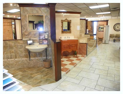 Tile Displays in Elmwood Park Tile Store